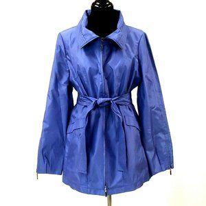 CARLISLE Blue Belted Rain Jacket